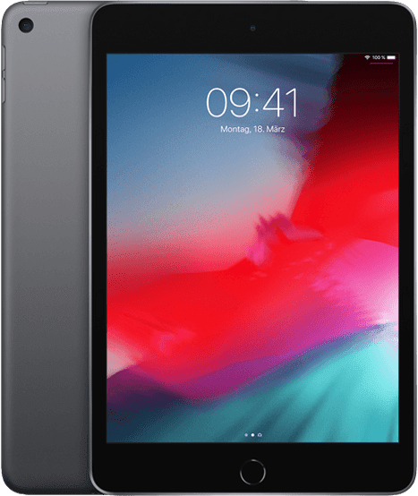Space Grey Apple iPad mini 5 Wi-Fi (2019).1