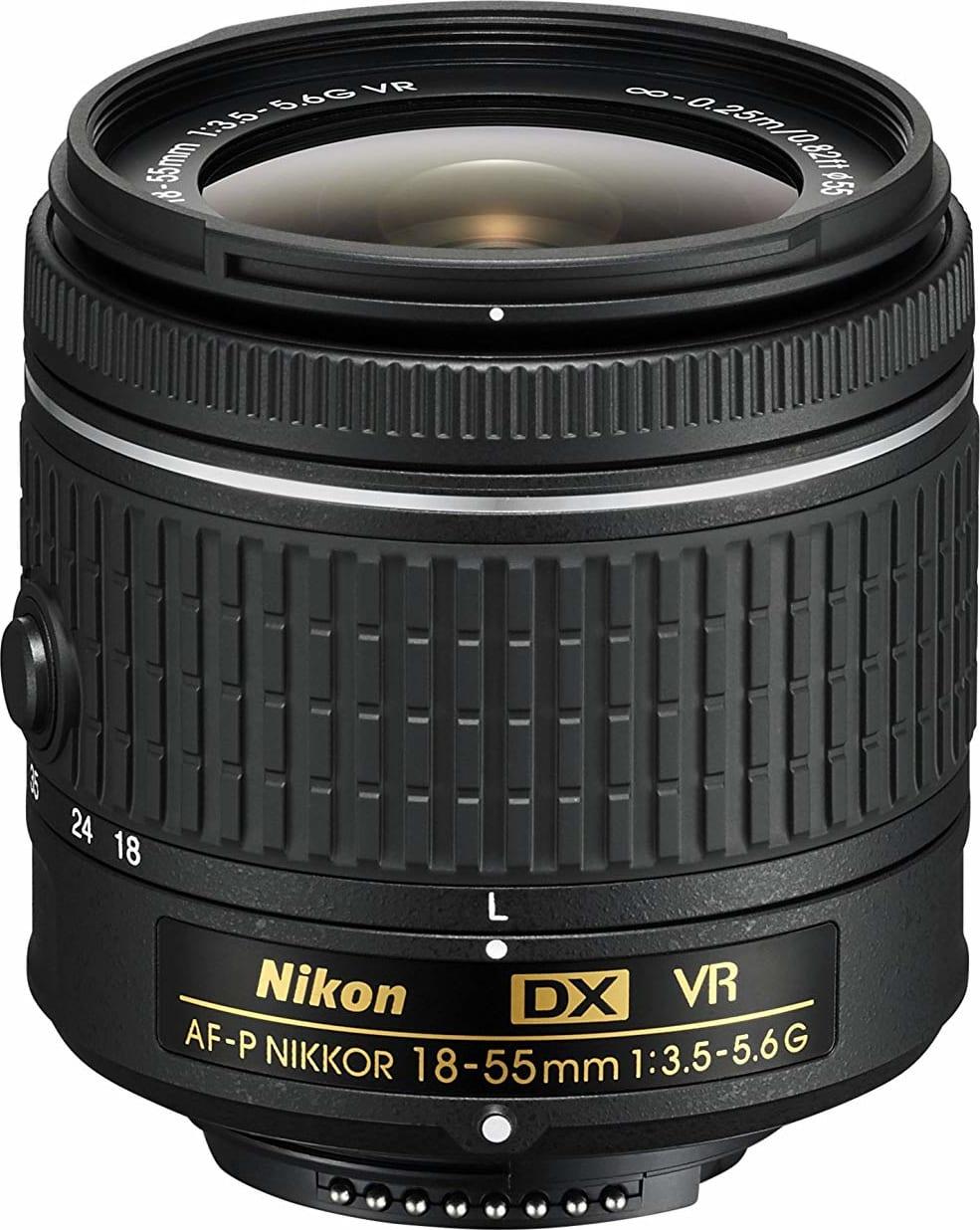 Black Nikon D3300 SLR Digital Camera Kit + AF-P 18-55 VR black.2