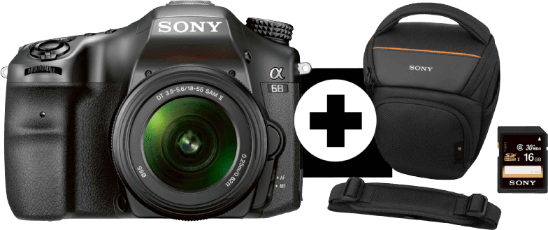 Sony ILC-A 68 K + Bag + SD card 16GB.1