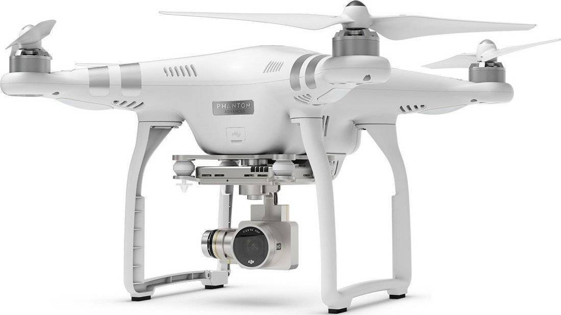 White DJI Phantom 3 Advanced Quadrocopter.1