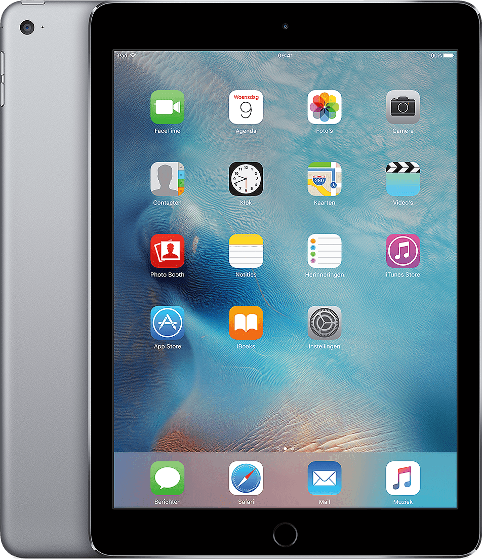 Space Grey Apple iPad Air 2 Wi-Fi (2014).1