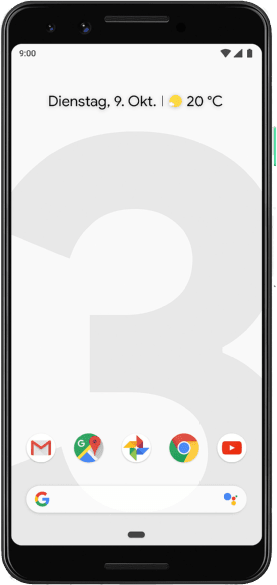 Clearly White Google Pixel 3 64GB.1