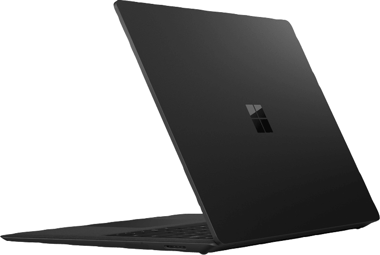 Schwarz Microsoft Surface Laptop 2.3