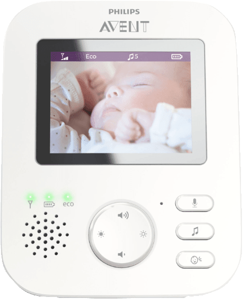 Weiß PHILIPS SCD 833/26 Digitales Video Babyphone.3