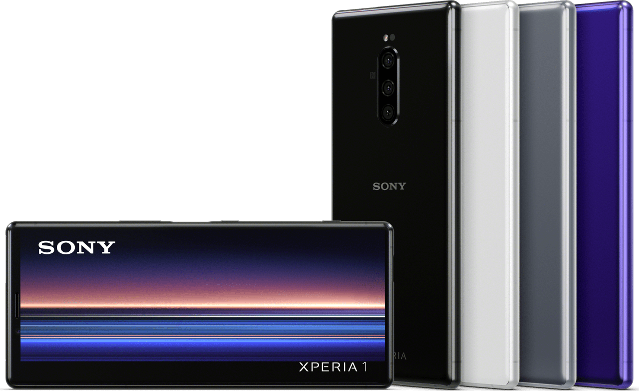 Grau Sony Xperia 1 128GB.4