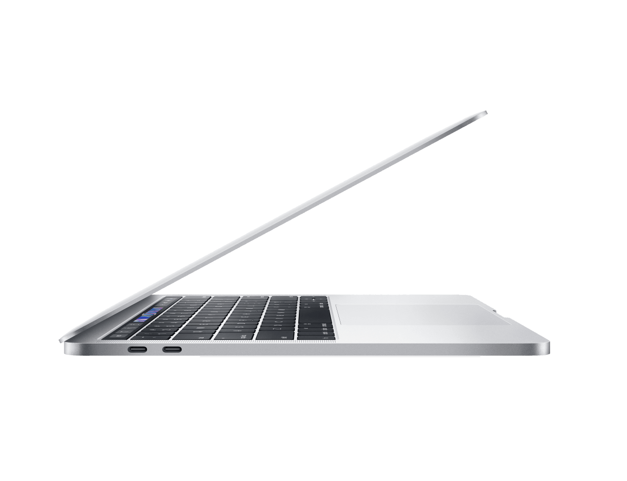 "Silber Apple 13"" MacBook Pro Touch Bar (Mid 2019).2"