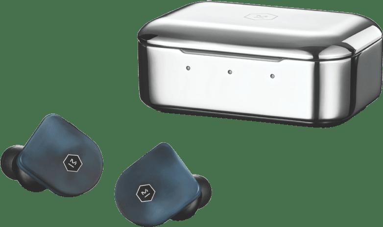 Steel Blue Master & Dynamic MWO7 In-ear True wireless headphones.1
