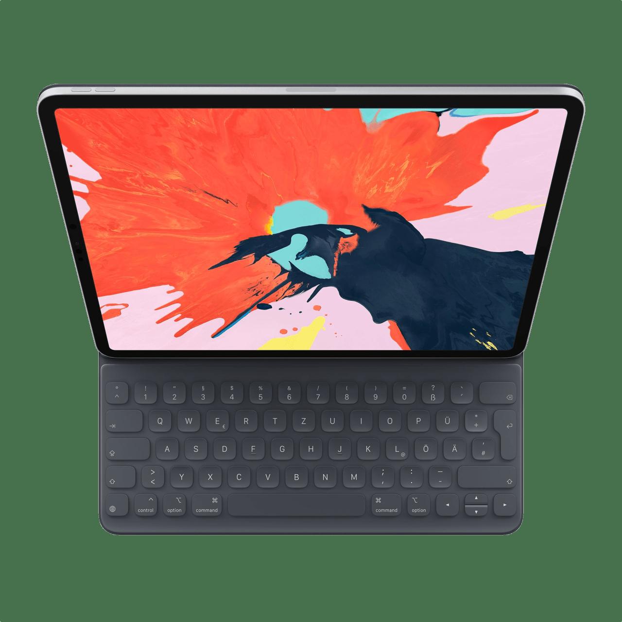 Dunkelgrau Apple Smart Keyboard Folio (2019).1