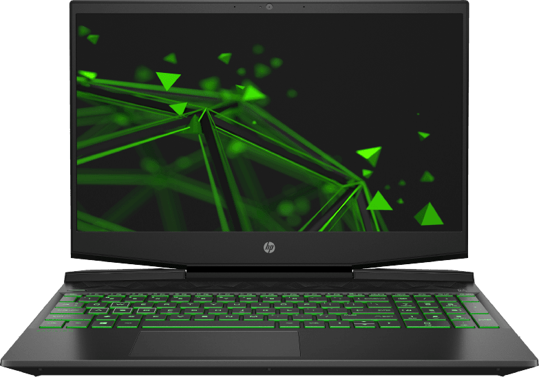 Black / Green HP Pavilion Gaming 15-dk0300ng.1