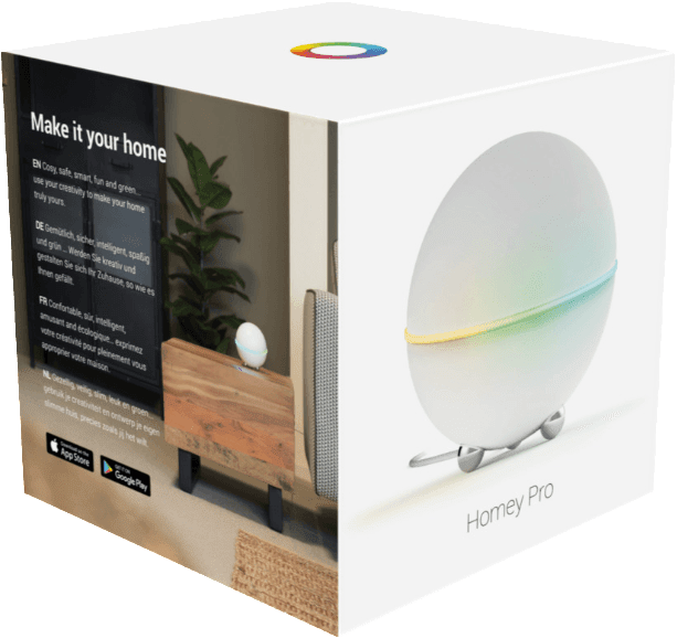 Weiß Homey (Early 2019) Smart Home Hub.2