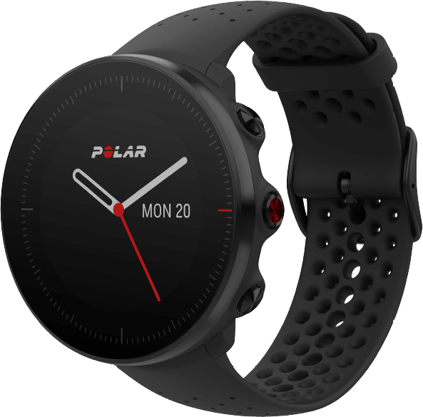 Black Polar Vantage M GPS Sports watch, M/L.1