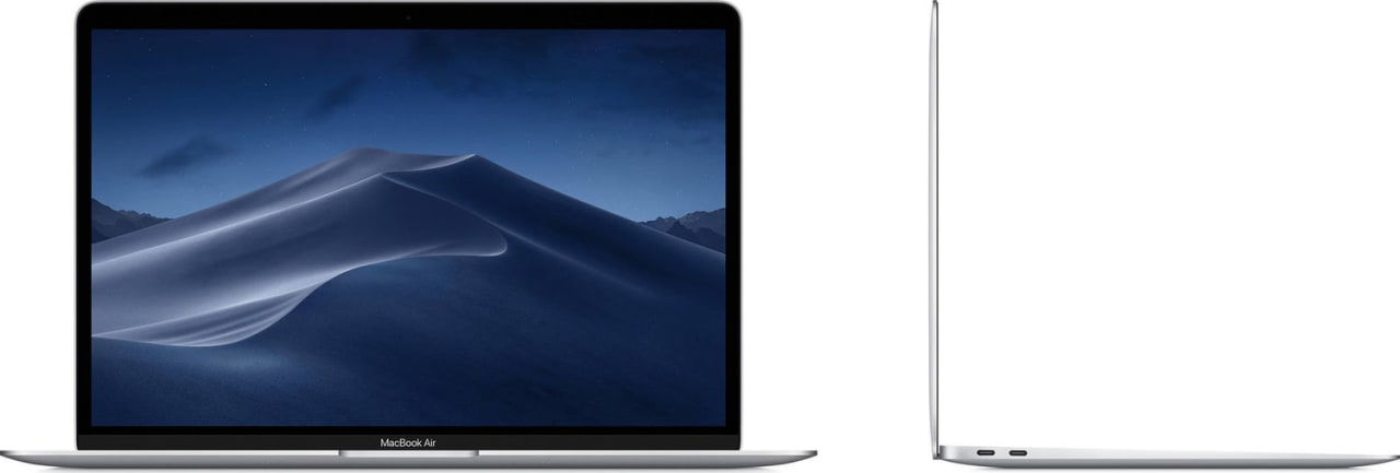 Silver Apple MacBook Air (Mid 2019).3