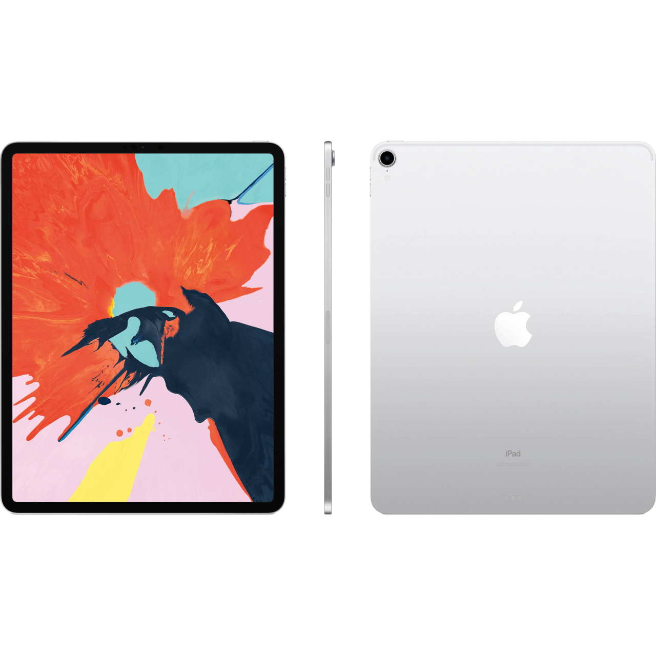 "Silver Apple 12.9"" iPad Pro Wi-Fi + Cellular (2018).2"