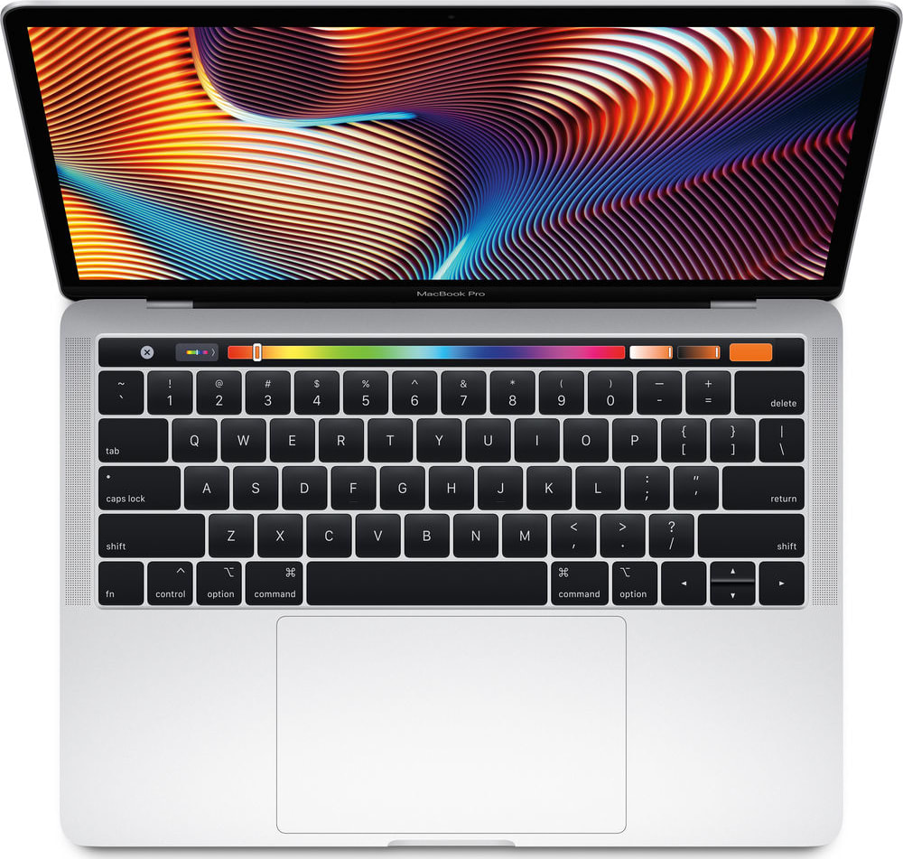 "Silver Apple 13"" MacBook Pro Touch Bar (Mid 2018).2"