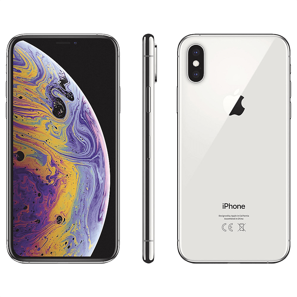 Silver Apple iPhone Xs 64GB.2