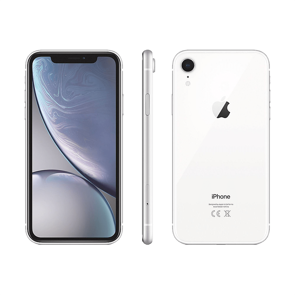 White Apple iPhone Xr 128GB.2