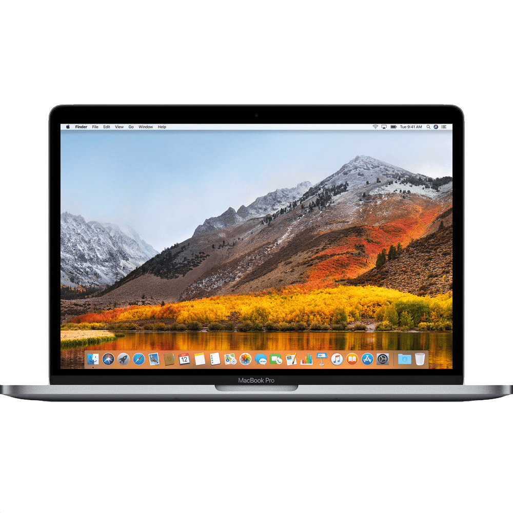 """Space Grey Apple 13"""" MacBook Pro Touch Bar (Mid 2018), US Keyboard.1"""