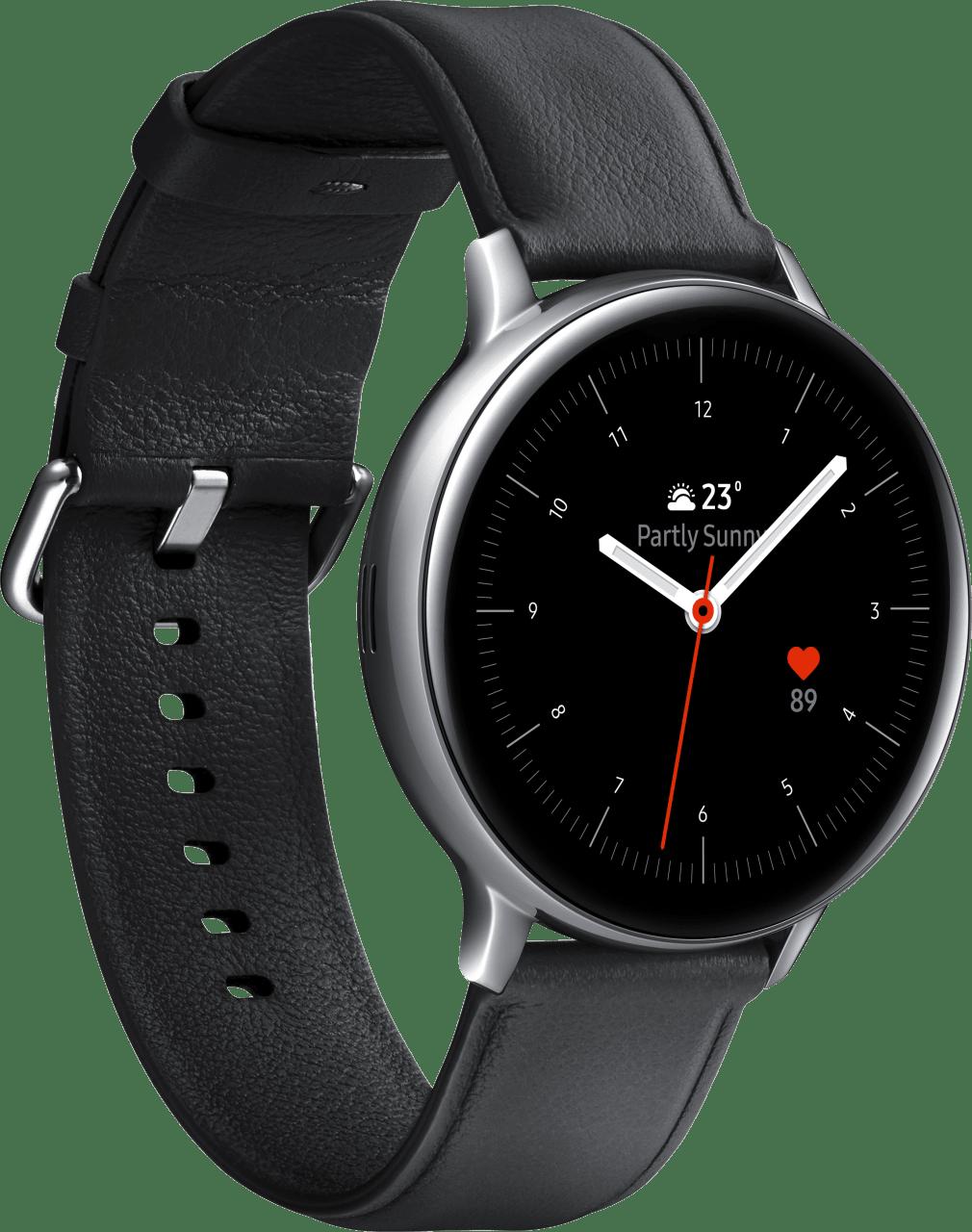 Silber Samsung Galaxy Watch Active2, 44mm.2