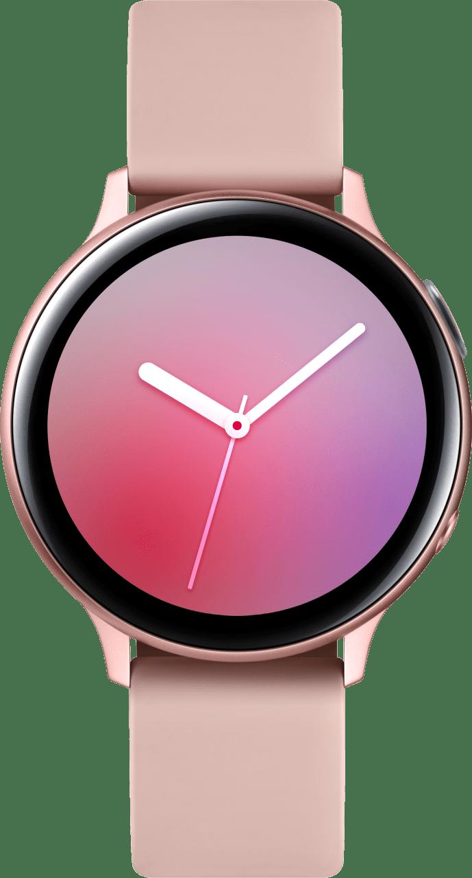Pink Gold Samsung Galaxy Watch Active2, 44mm Aluminium case, Sport band.1