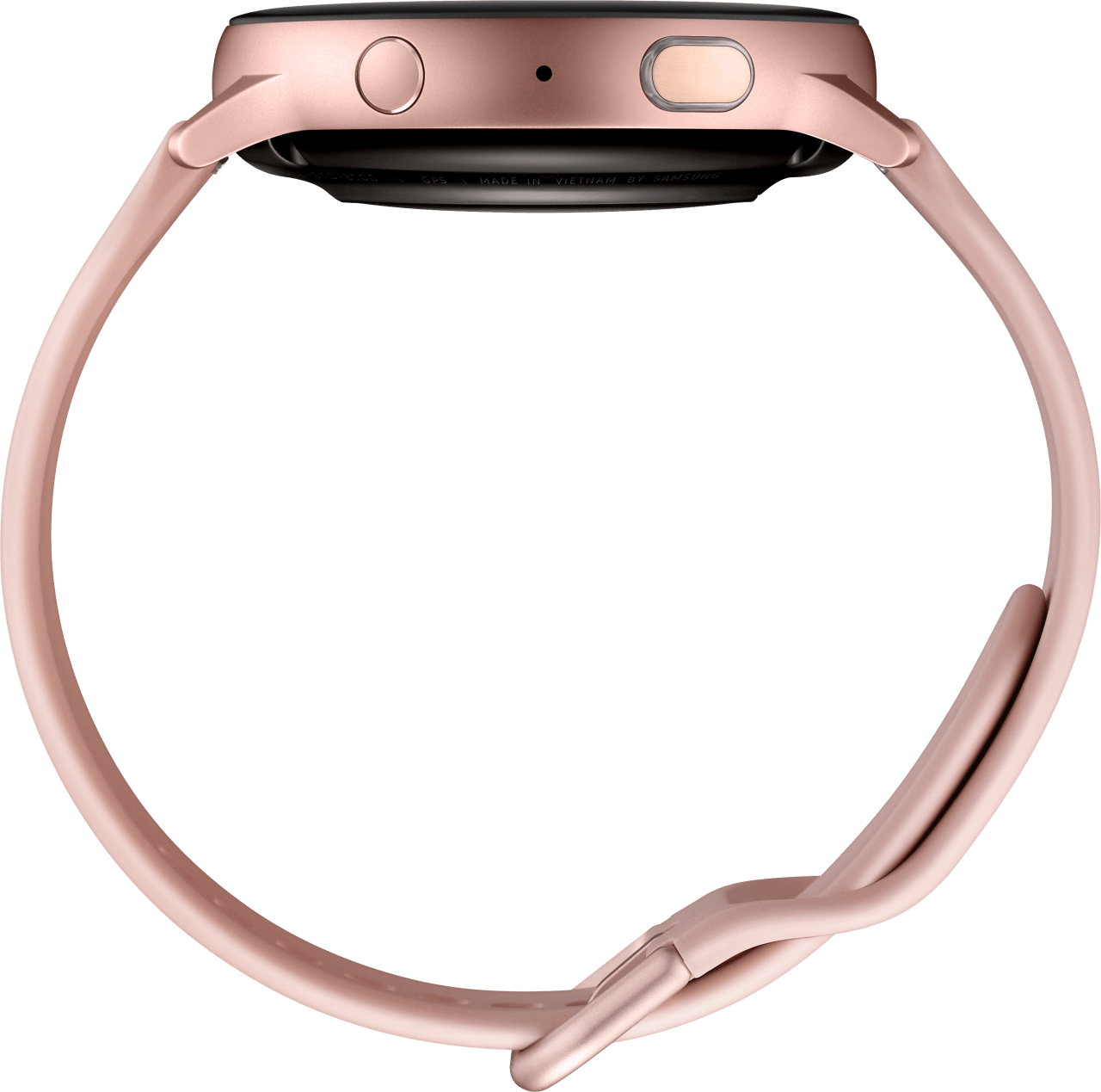 Pink Gold Samsung Galaxy Watch Active2, 44mm Aluminium case, Sport band.4