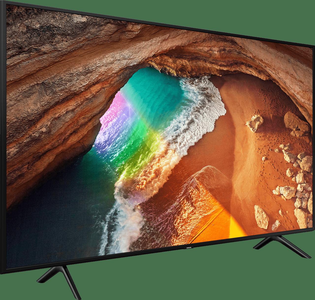 """Schwarz Samsung TV 49"""" Q60R.2"""