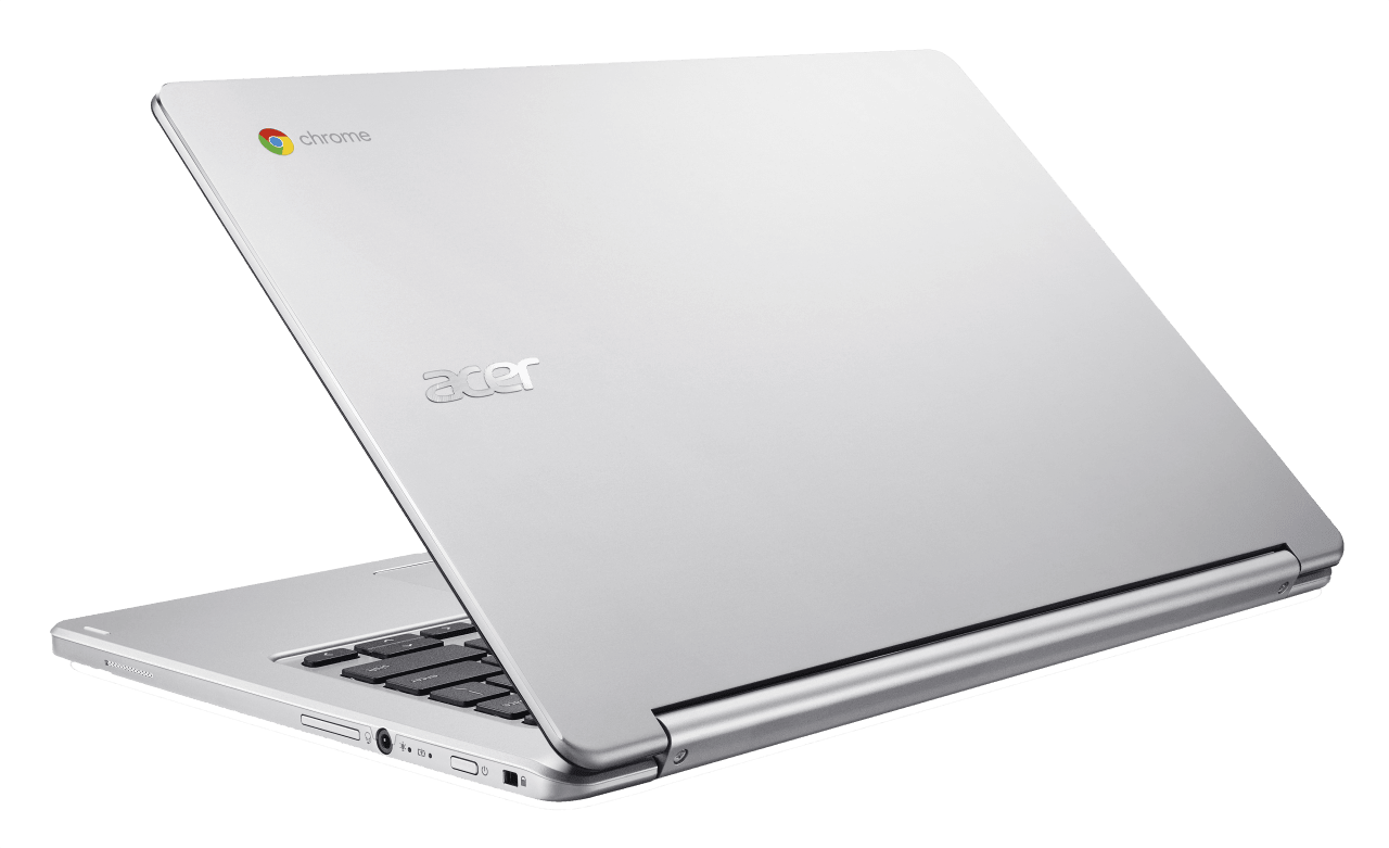 Silver Acer Chromebook R 13.3