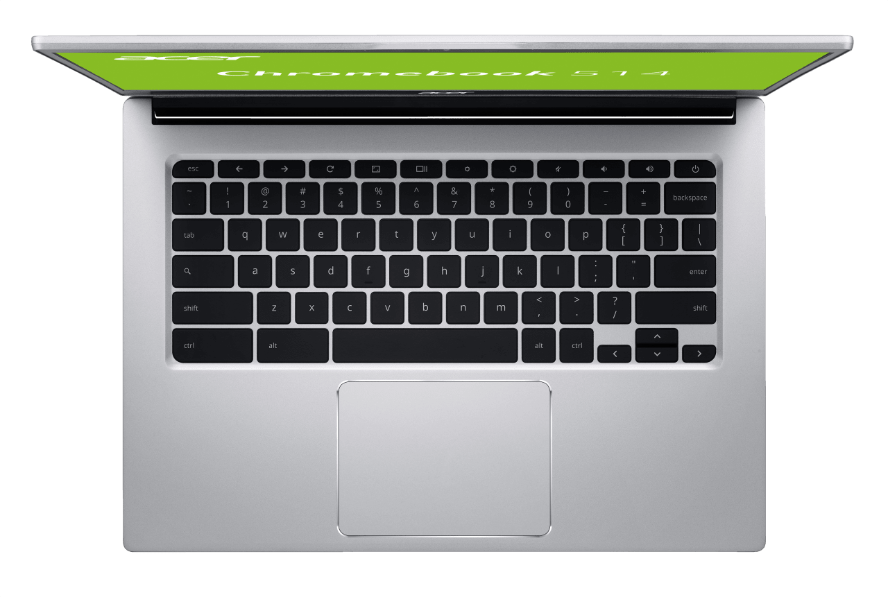 Silver Acer Chromebook 514.2