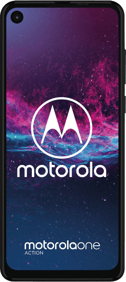 Denim Blau Motorola One Action (2019) 128GB.1