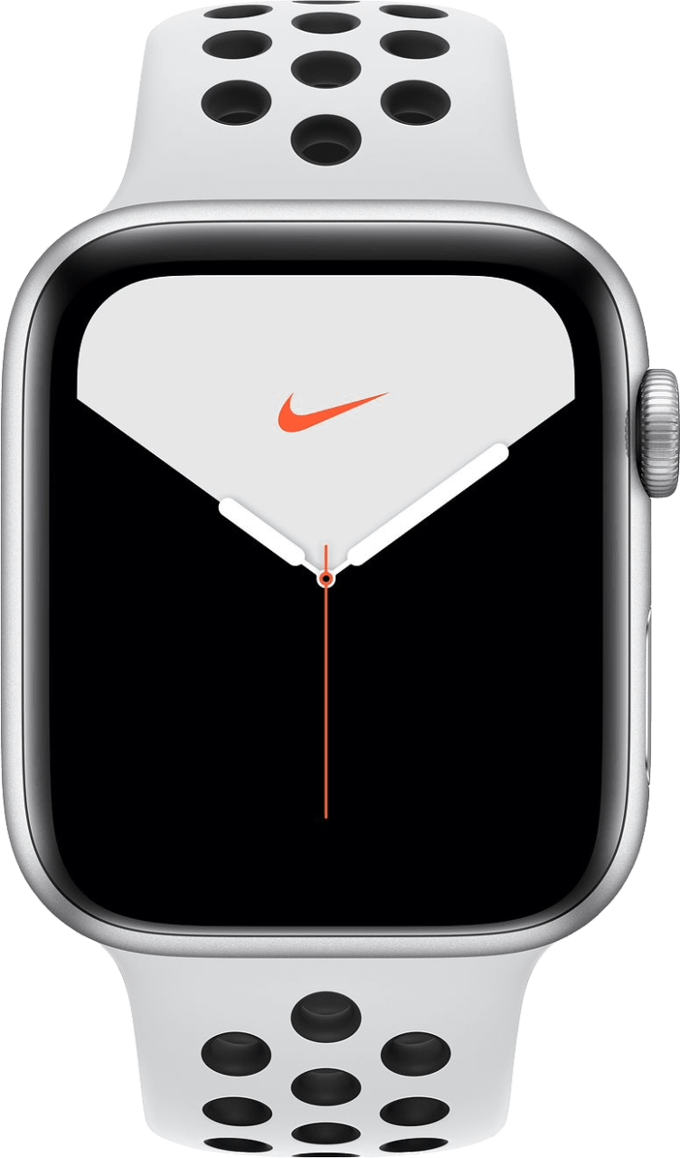Reines Platin / Schwarz Apple Watch Nike Series 5 GPS, 40mm.1