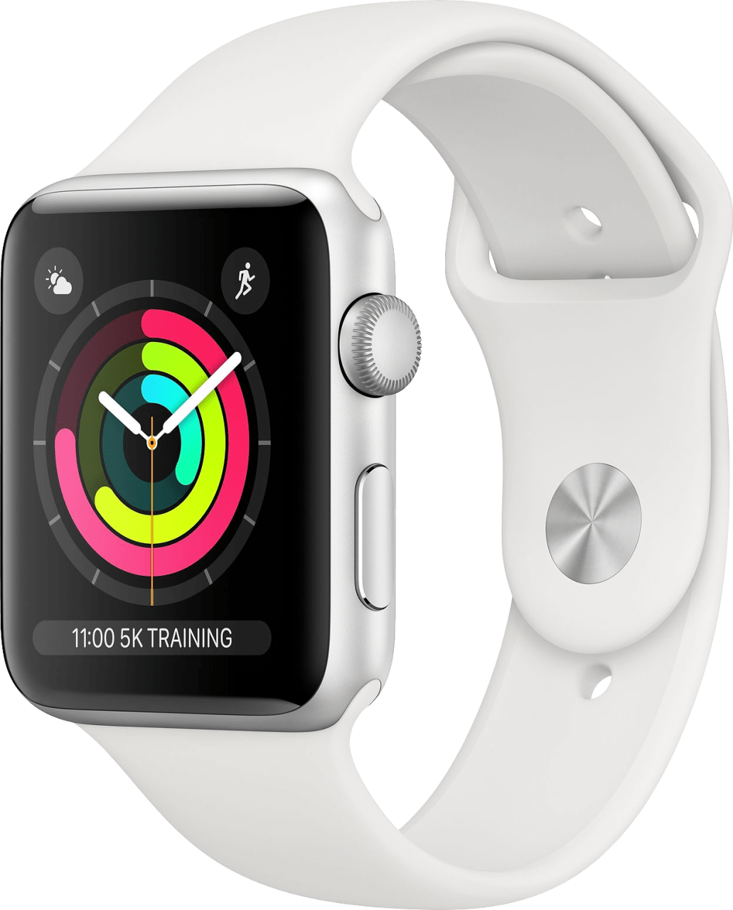 White Apple Watch Series 3 GPS, 38mm.2