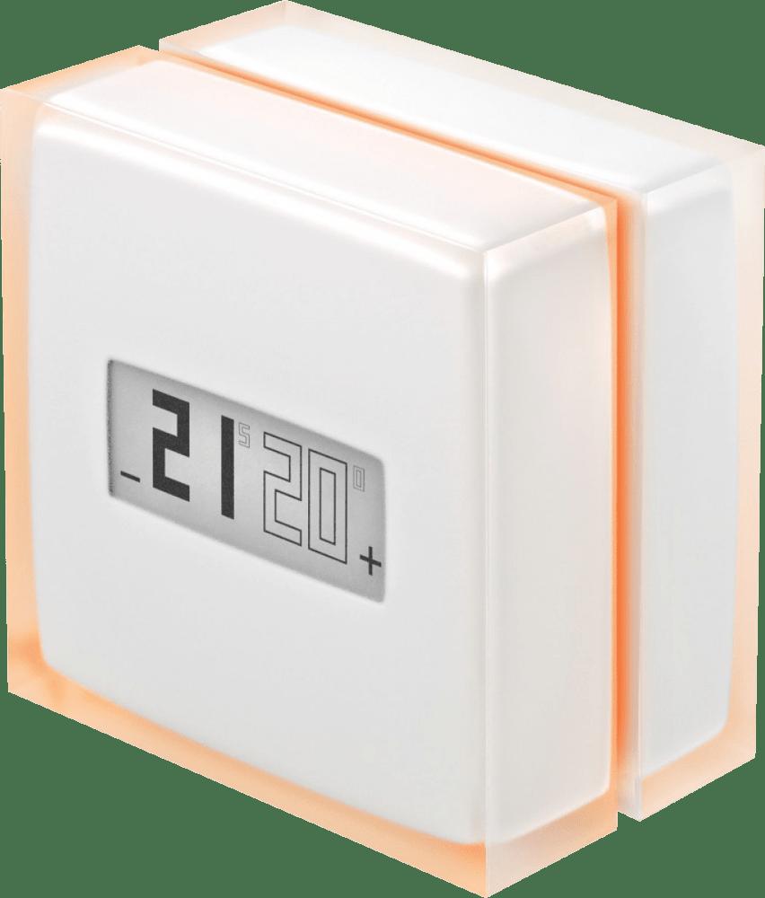 Transparent/White Netatmo NTH01-DE-EC Smart Thermostat.2