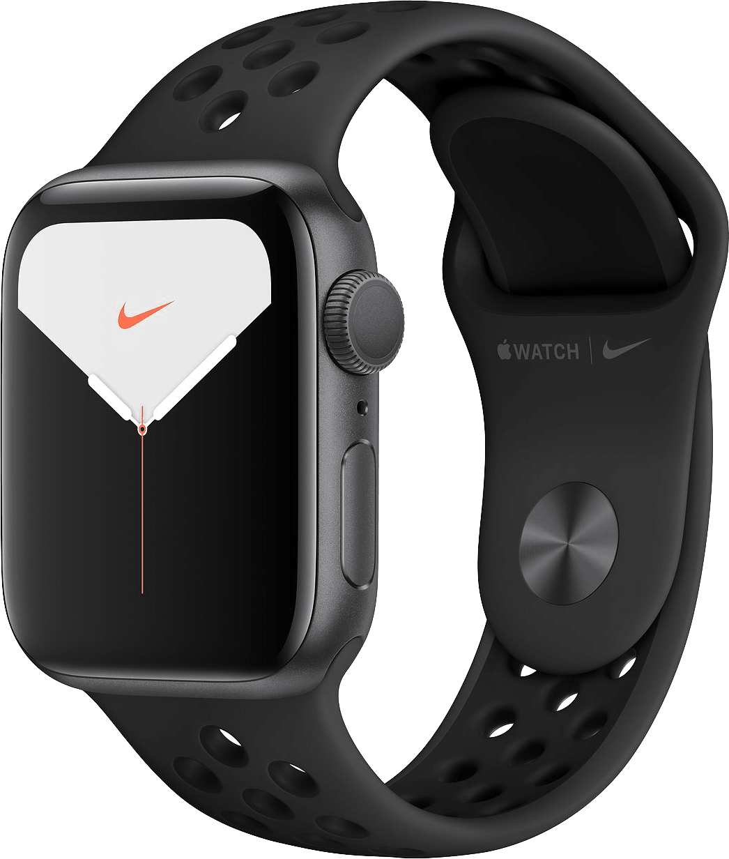 Anthrazit / Schwarz Apple Watch Nike Series 5 GPS, 40mm.2