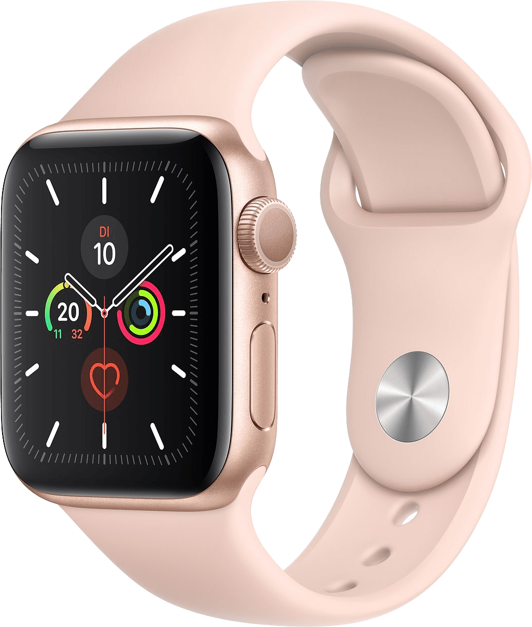Sand Pink Apple Watch Series 5 GPS, 40mm.2