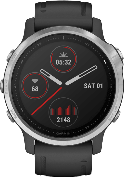 Black Garmin Fenix 6s.1
