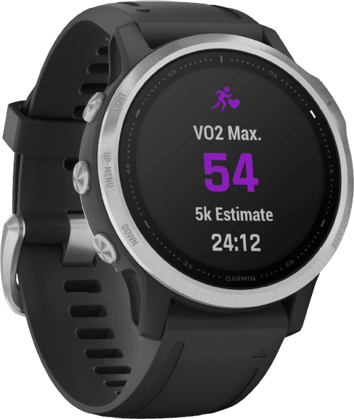 Black Garmin Fenix 6s.2