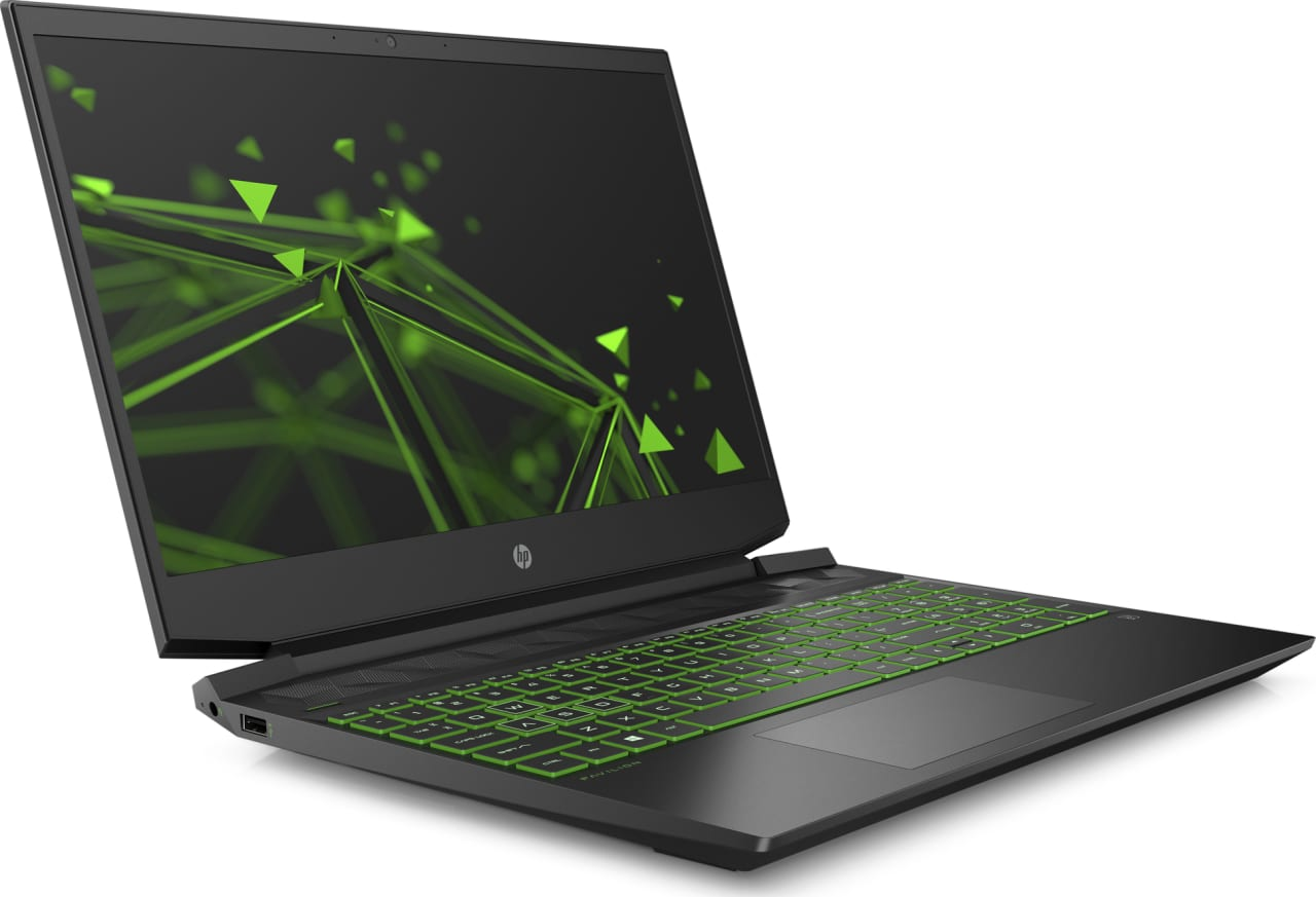 Shadow Black / Acid Green HP Pavilion Gaming 15-ec0020ng.3