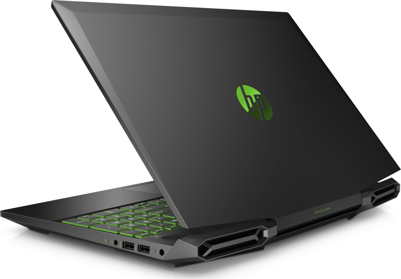 Shadow Black / Acid Green HP Pavilion Gaming 15-dk0007ng.2