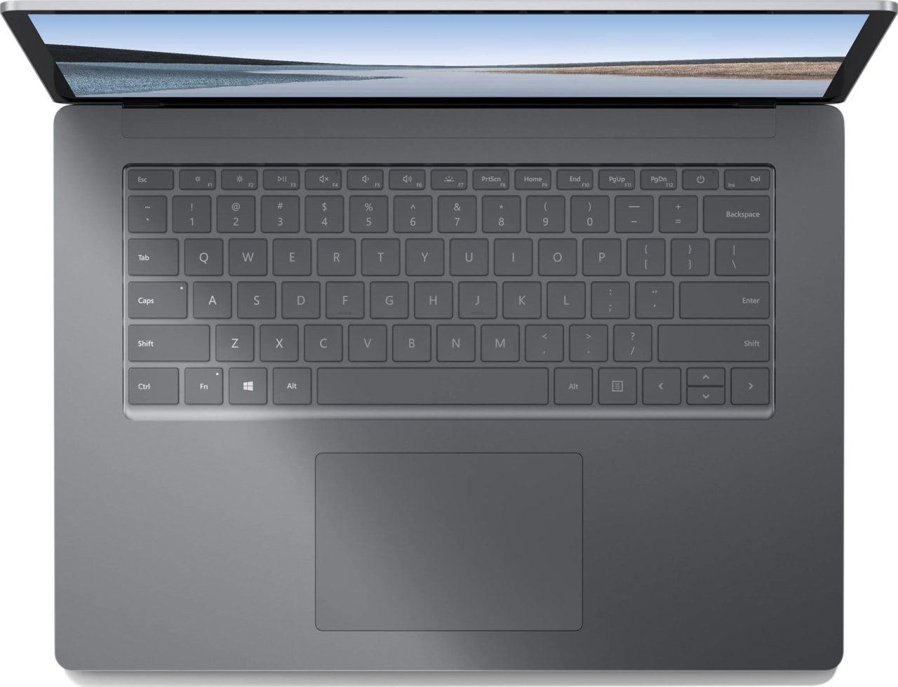 Platin (Metall) Microsoft Surface Laptop 3.2