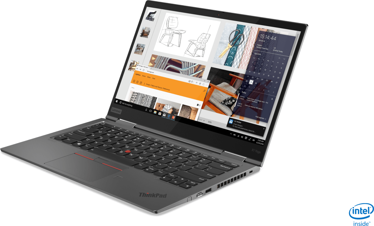 Iron Grey Lenovo ThinkPad X1 Yoga G4.2
