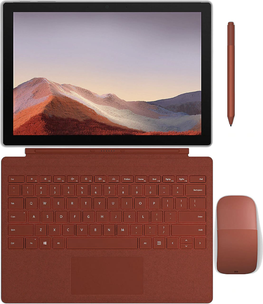 Poppy Red Microsoft Surface Pro Signature Type Cover  .2