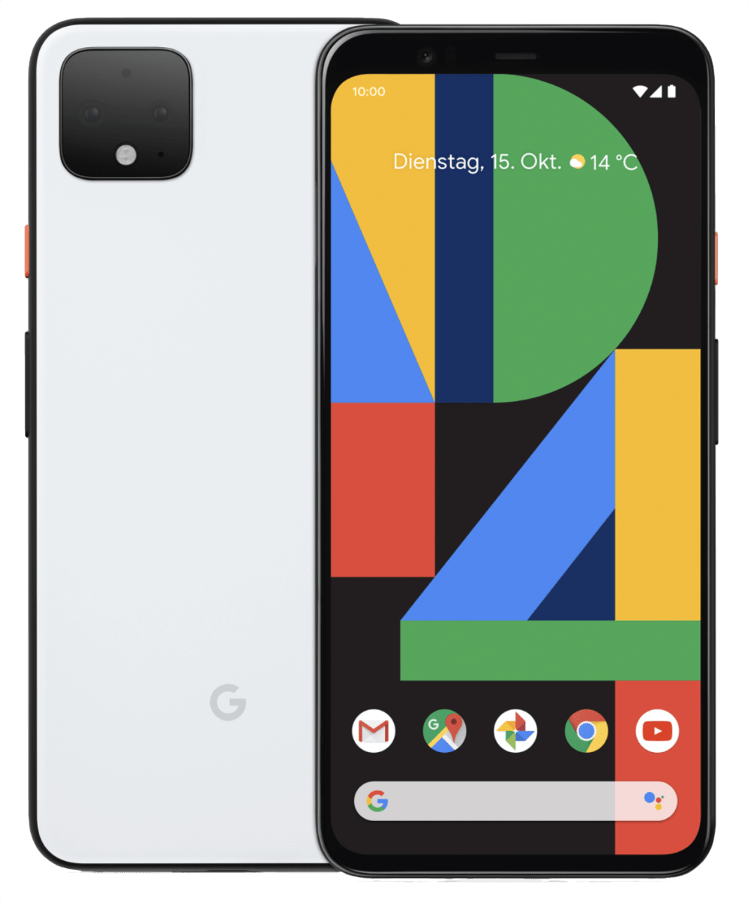 Clearly White Google Pixel 4 64GB.1