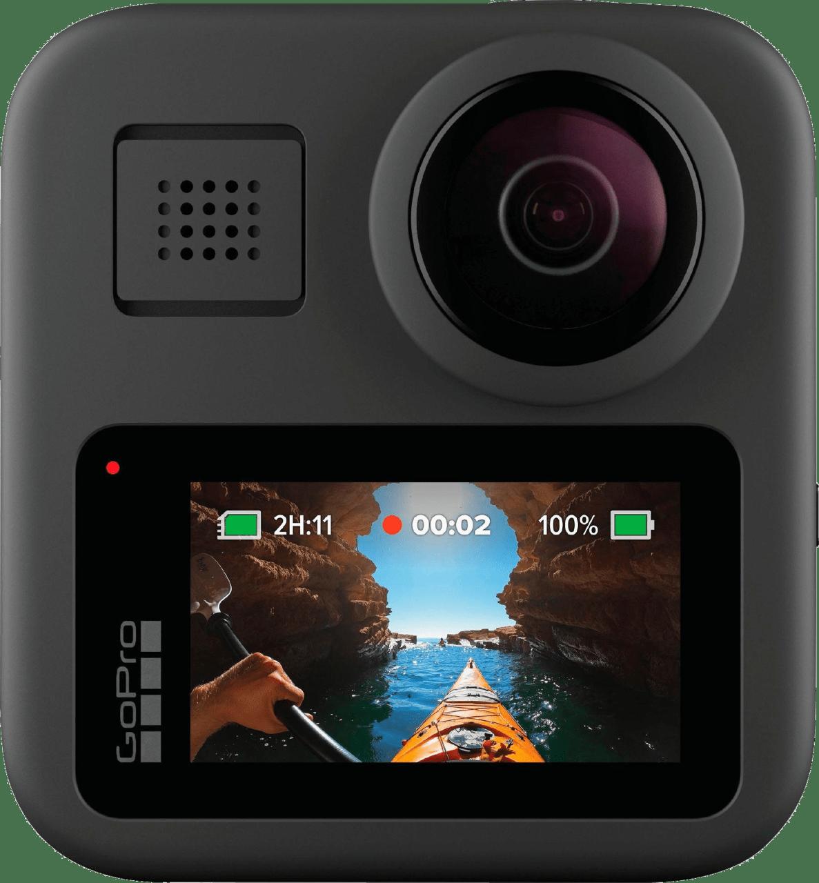 Schwarz GoPro MAX.2