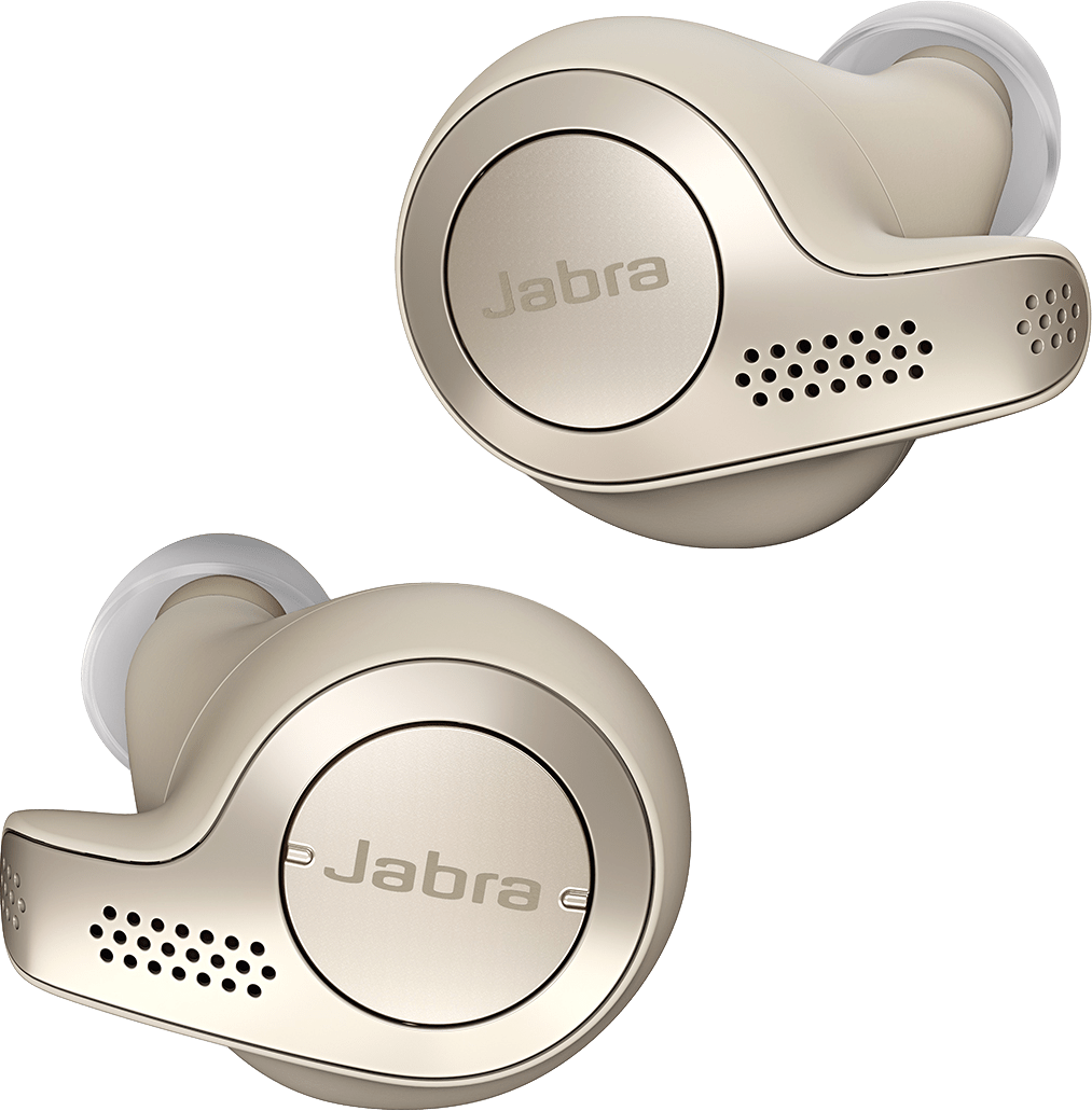 Gold beige Jabra Elite 65T In-ear Bluetooth Headphones.1
