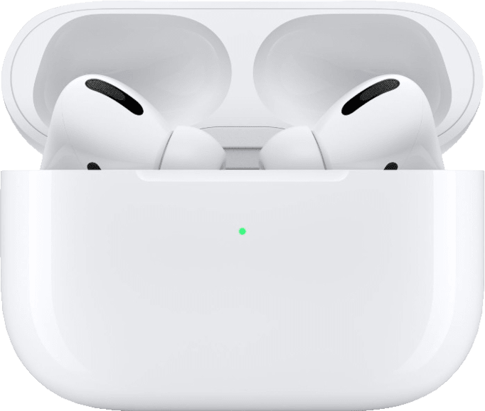 Weiß Apple AirPods Pro with Case Noise-cancelling In-ear Bluetooth-Kopfhörer.3