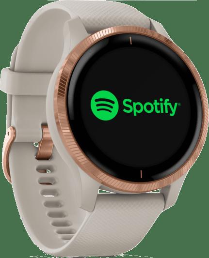 Beige Garmin Venu Smartwatch.3