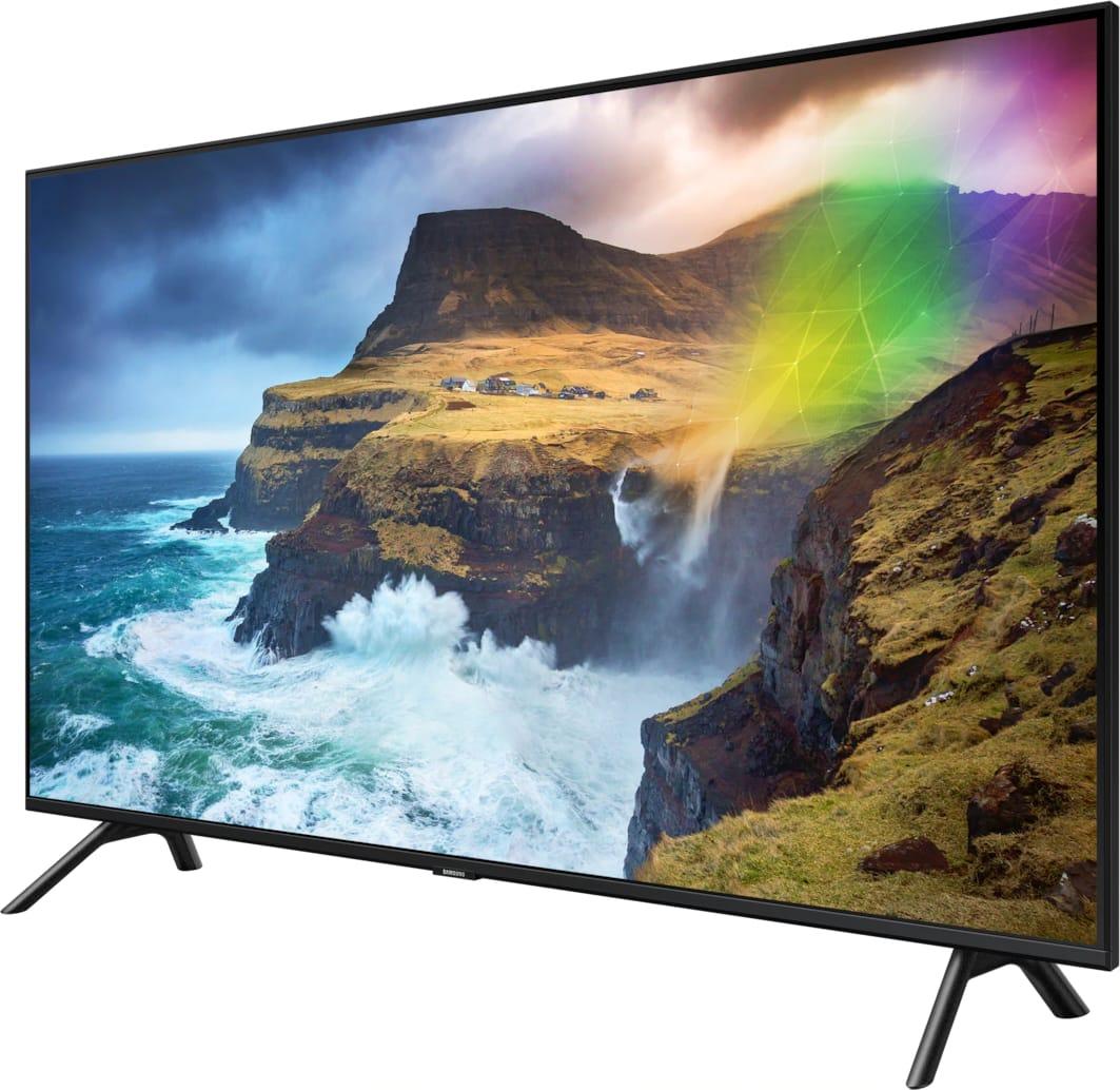 """Schwarz Samsung TV 49"""" Q70R.3"""