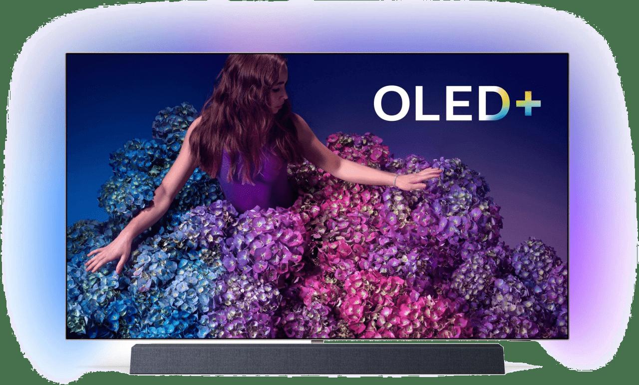 """Black Philips TV 65"""" OLED934.1"""