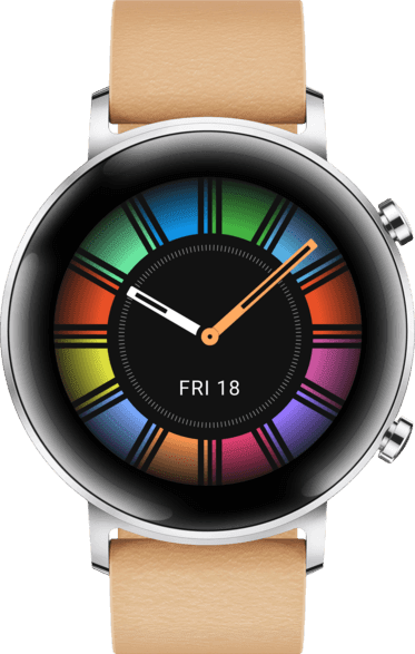 Beige Huawei Watch GT2 Classic, 42mm.2
