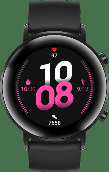 Black Huawei Watch GT2 Sport Edition, 42mm.2