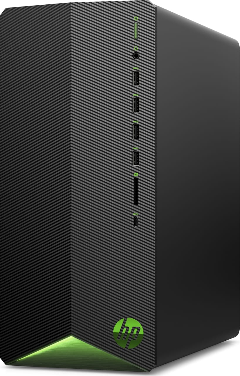 Black HP Pavilion Gaming Desktop TG01-0017ng.3